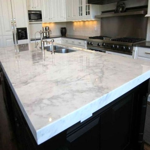 Awesome Kitchen Concrete Countertop Ideas To Inspire 07
