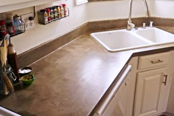 Awesome Kitchen Concrete Countertop Ideas To Inspire 11