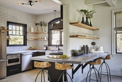 Awesome Kitchen Concrete Countertop Ideas To Inspire 25