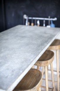 Awesome Kitchen Concrete Countertop Ideas To Inspire 30