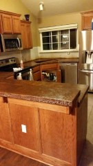 Awesome Kitchen Concrete Countertop Ideas To Inspire 36