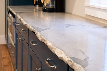 Awesome Kitchen Concrete Countertop Ideas To Inspire 48