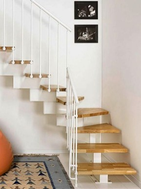 Brilliant Stair Design Ideas For Small Space 07