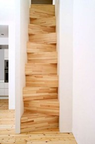 Brilliant Stair Design Ideas For Small Space 22