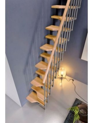 Brilliant Stair Design Ideas For Small Space 23