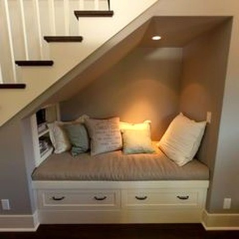 Brilliant Stair Design Ideas For Small Space 34