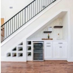 Brilliant Stair Design Ideas For Small Space 37