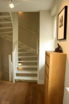 Brilliant Stair Design Ideas For Small Space 41