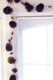 Easy And Simple Fall Garland Decoration Ideas 37