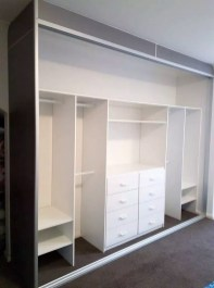 Elegant Wardrobe Design Ideas For Your Small Bedroom 05