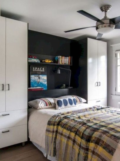 Elegant Wardrobe Design Ideas For Your Small Bedroom 08