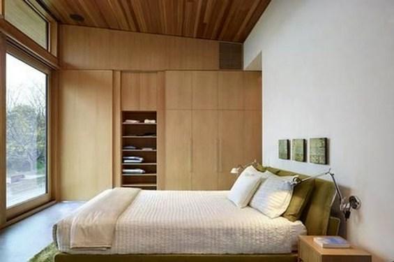 Elegant Wardrobe Design Ideas For Your Small Bedroom 09