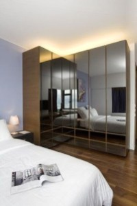 Elegant Wardrobe Design Ideas For Your Small Bedroom 22