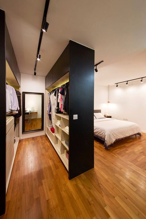 Elegant Wardrobe Design Ideas For Your Small Bedroom 49