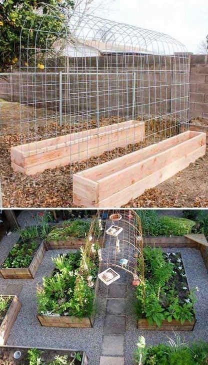 Extraordinary Vegetables Garden Ideas For Backyard 42