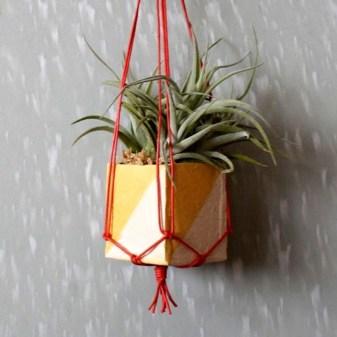 Inspiring DIY Vertical Plant Hanger Ideas For Your Home 06