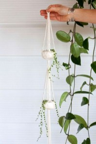Inspiring DIY Vertical Plant Hanger Ideas For Your Home 12