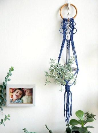 Inspiring DIY Vertical Plant Hanger Ideas For Your Home 26