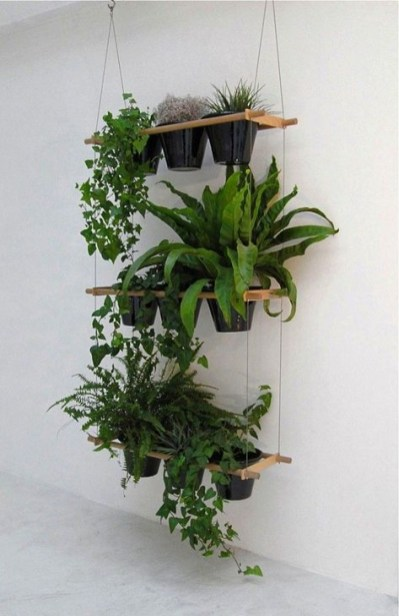 Inspiring DIY Vertical Plant Hanger Ideas For Your Home 40