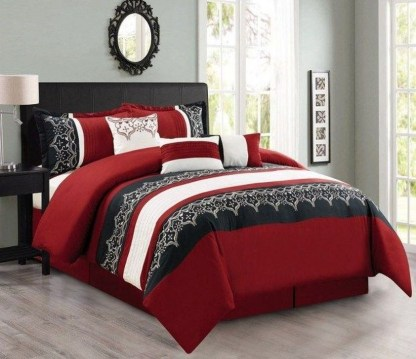 Magnificient Red Bedroom Decorating Ideas For You 33