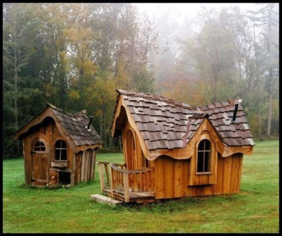 Marvelous Outdoor Playhouses Ideas To Live Childhood Adventures 15