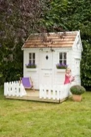 Marvelous Outdoor Playhouses Ideas To Live Childhood Adventures 21