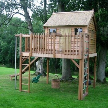 Marvelous Outdoor Playhouses Ideas To Live Childhood Adventures 23