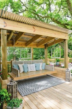 Awesome Backyard Seating Ideas For Best Inspiration 16