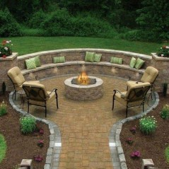 Awesome Backyard Seating Ideas For Best Inspiration 28