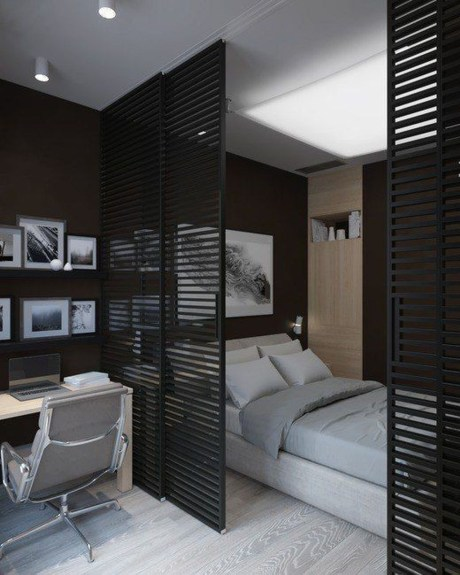 Marvelous Divide Room Decoration Ideas That Look More Comfort 44