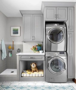 Perfect Functional Laundry Room Decoration Ideas For Low Budget 05