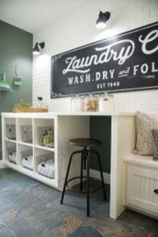 Perfect Functional Laundry Room Decoration Ideas For Low Budget 12