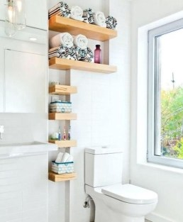 Smart Small Bathroom Organization Ideas For Bathing Comfort 01