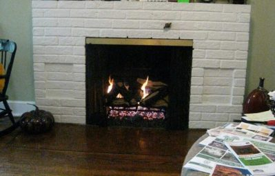how to light a gas fireplace
