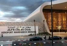 صورة انخفاض حركة النقل الجوي بأزيد من 89 بالمائة بمطار مراكش المنارة