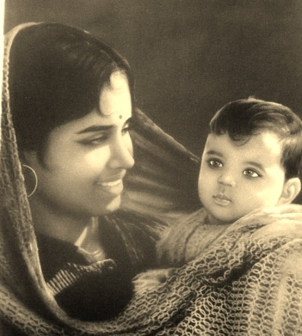 Indian Mother and Child - Vintage Print