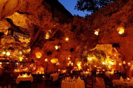 Ali Barbour's Cave Restaurant,