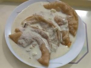 haalu holige, milk sweet dish, ಹಾಲು ಹೋಳಿಗೆ