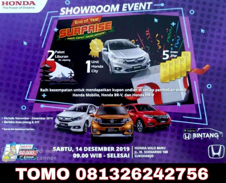 Promo Showroom Event Honda Solo Minggu Ini