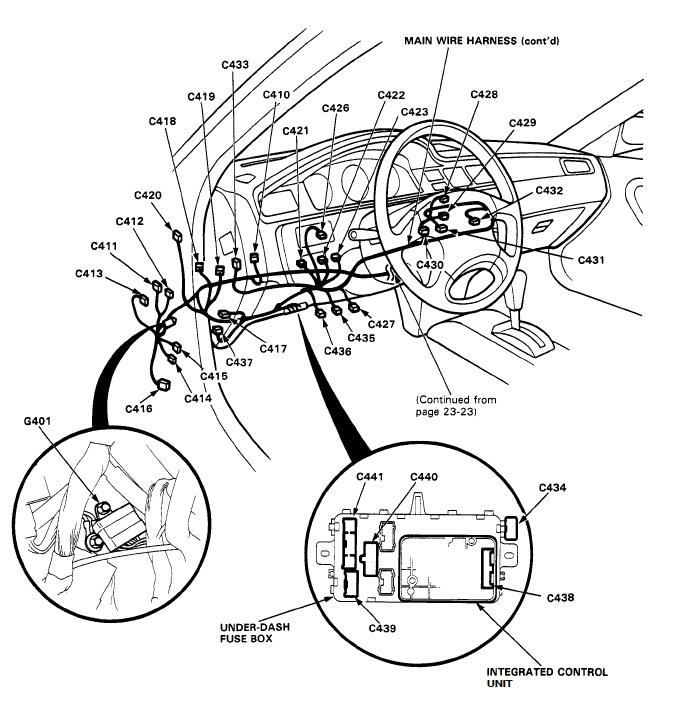 Diagram 94 Honda Civic Fuse Panel File Oa45600