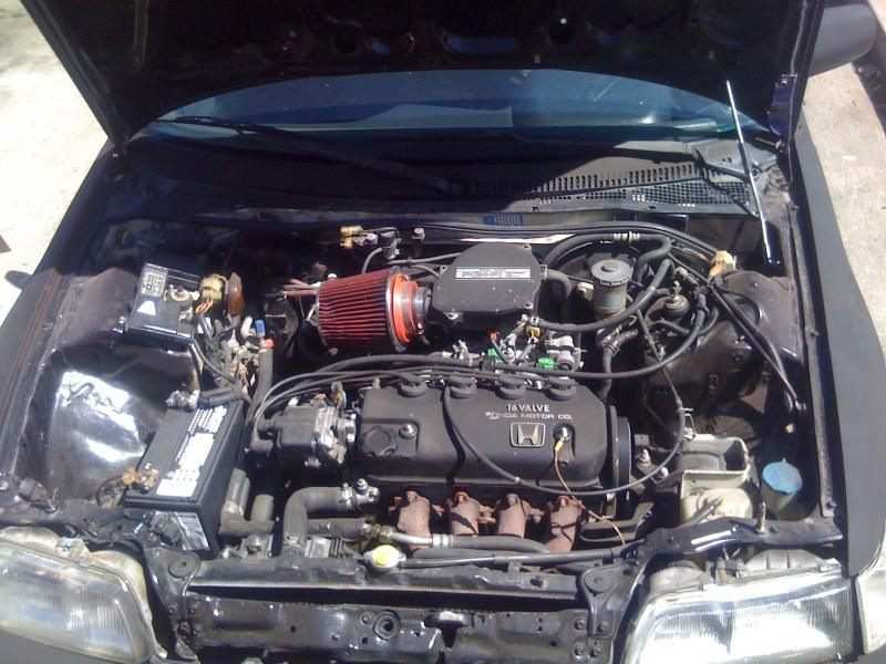 Si Crx Honda 1991 Civic