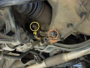 Oil fill on h23 manual transmission?  HondaTech