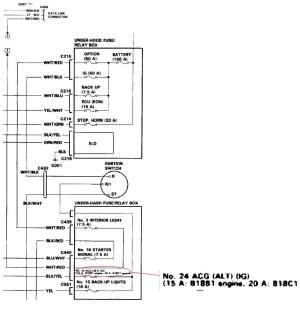NEED: GSR OBD1 Data Link Connector(DLC) diagram  Honda
