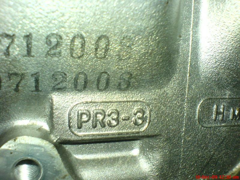 B18c Type R Head Code