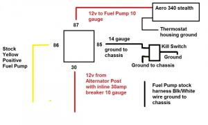 Fuel Pump Wiring Double Checking having issue  HondaTech  Honda Forum Discussion