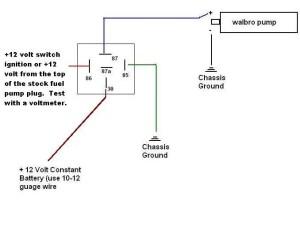 044 Bosch Fuel Pump wiring  HondaTech  Honda Forum Discussion