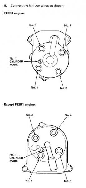 Quick help needed: f22b firing order  HondaTech  Honda Forum Discussion