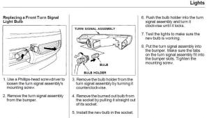 How to remove bumper turn signal bulb and where can I find