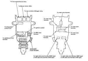 NEEDED!! 1994 Accord Fuse Diagram!  HondaTech  Honda