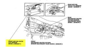 P2631  Part number for AF sensor  HondaTech  Honda Forum Discussion